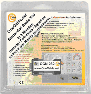 OneCable.net Starter-Set Basis-X10